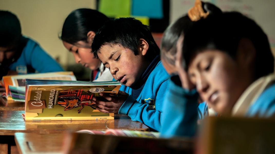 Programa Leer, firme <br /> en Ayacucho y Huancavelica