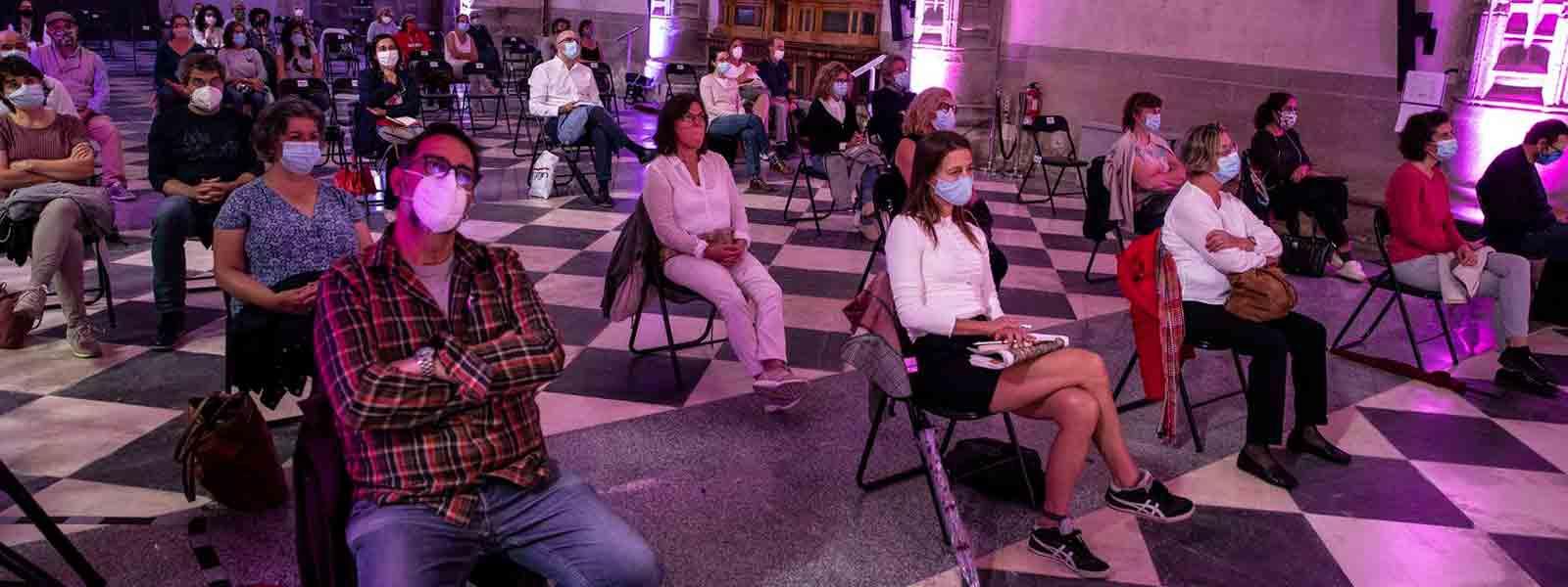 Fiesta con mascarillas - Fundación BBVA Perú